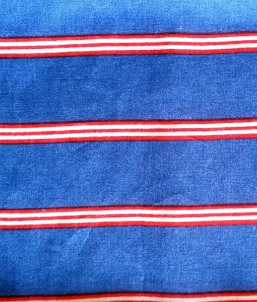 Shuka viscose blue stripe