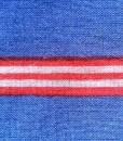 Shuka viscosa blue stripe detail