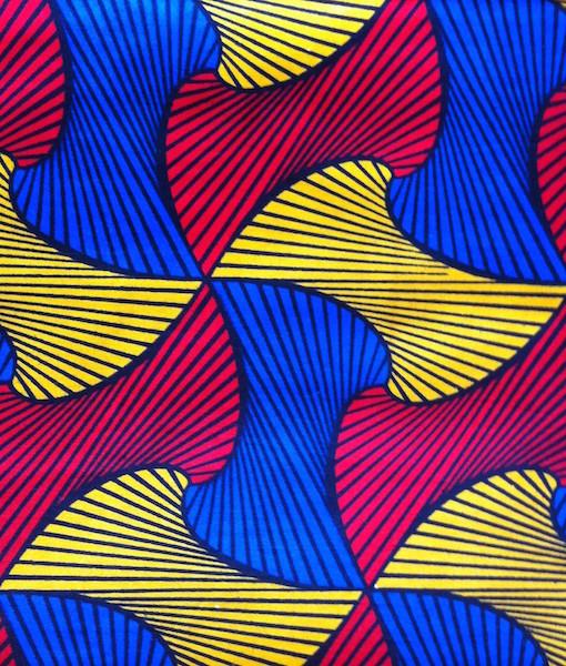 Kitenge tricolor